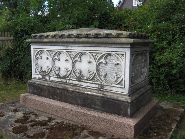 Gibbons family tomb-chest, St. Mary's churchyard, Stone