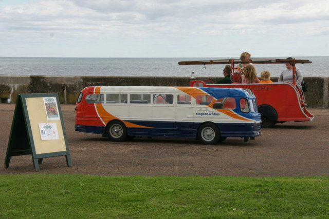 Miniature vehicles, West Links, Arbroath