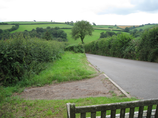 The view from a seat southwest of Ashprington