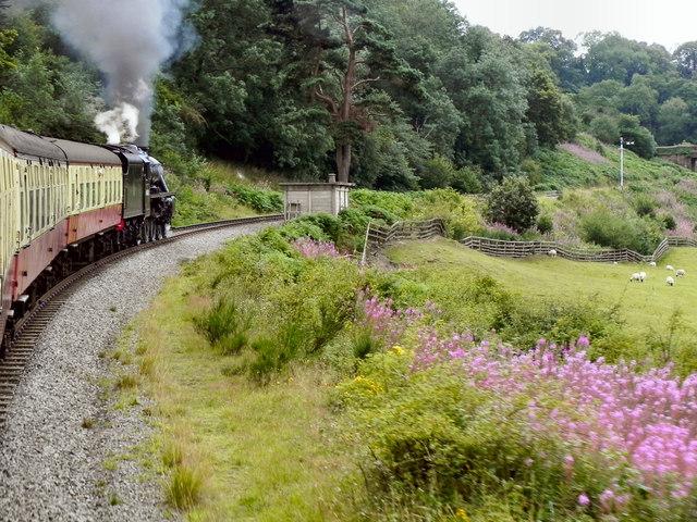North Yorkshire Moors Railway, Murk Esk Valley
