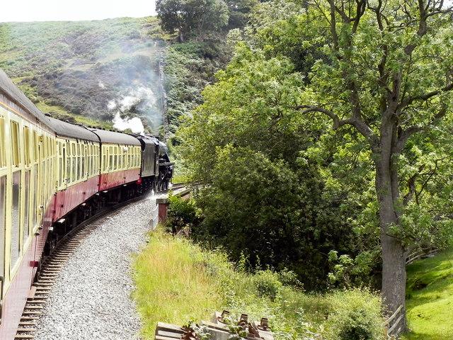 North Yorkshire Moors Railway, Crossing Eller Beck