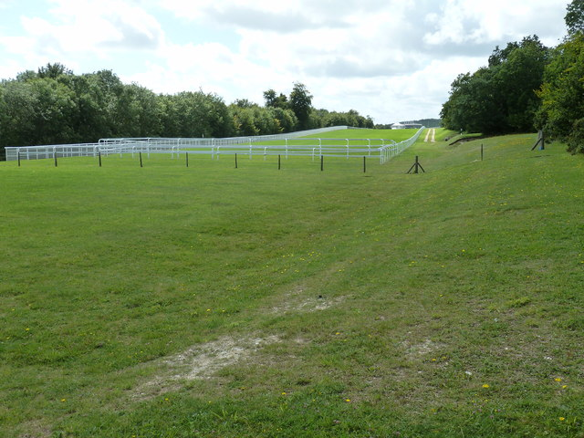 Short race starting point at Goodwood Racecourse