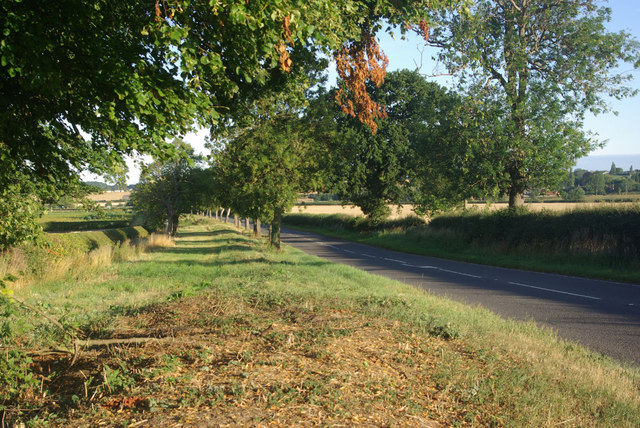 A428 towards Bretford