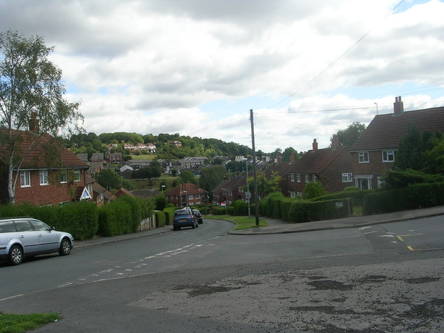 Whincover Road - viewed from Wincover View