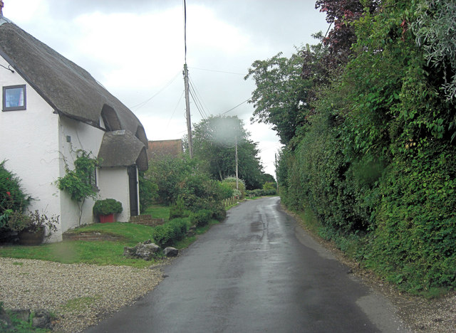 Entering Hannington from the North