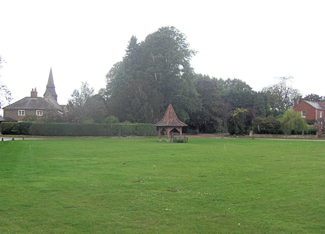 Hannington Village Green and Well