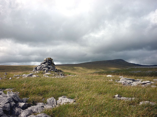 Cairn on Clapdale Scars
