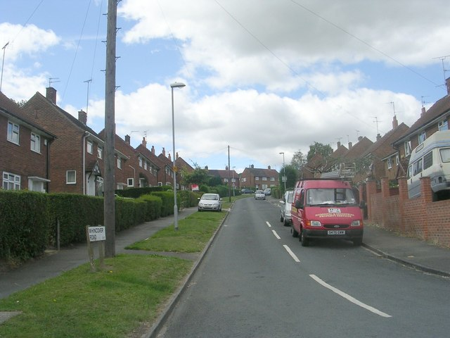 Whincover Road - Cow Close Road
