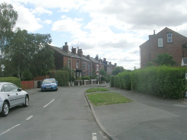 Cow Close Road - viewed frtom Whincover Road
