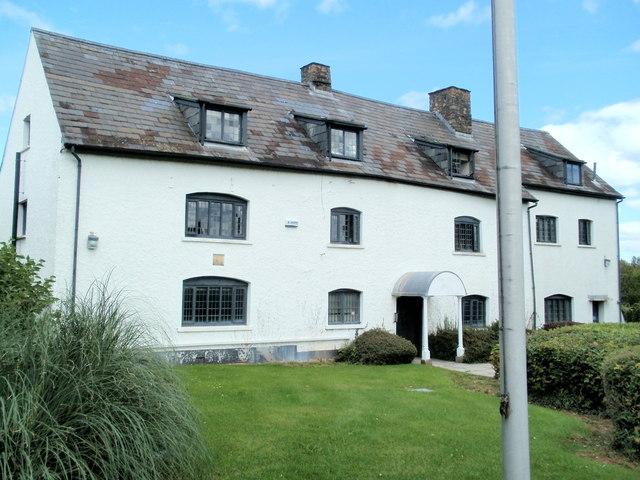 Grade II listed former Ty Coch Farmhouse, Cwmbran