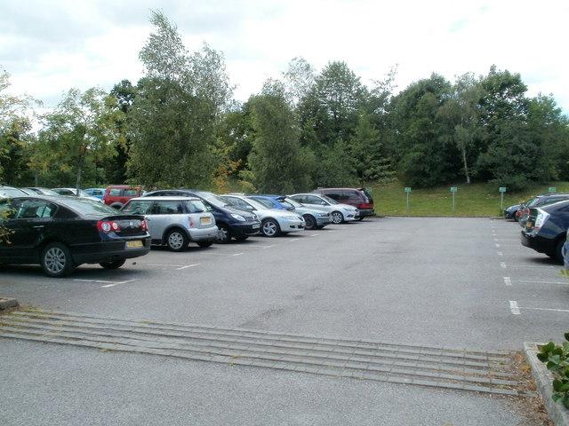 A Llantarnam Industrial Park car park, Cwmbran