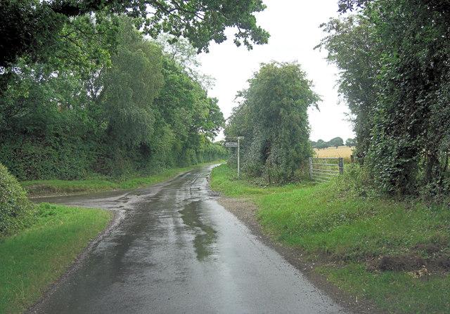 Hook Lane intersects Summer Down Lane