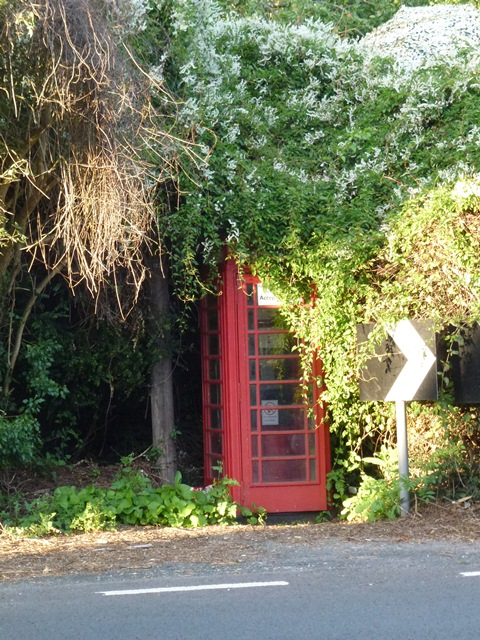 The disappearance of a Wraxall Phonebox