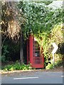 ST4971 : The disappearance of a Wraxall Phonebox by Steve Barnes