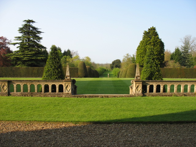 The grounds of Madingley Hall