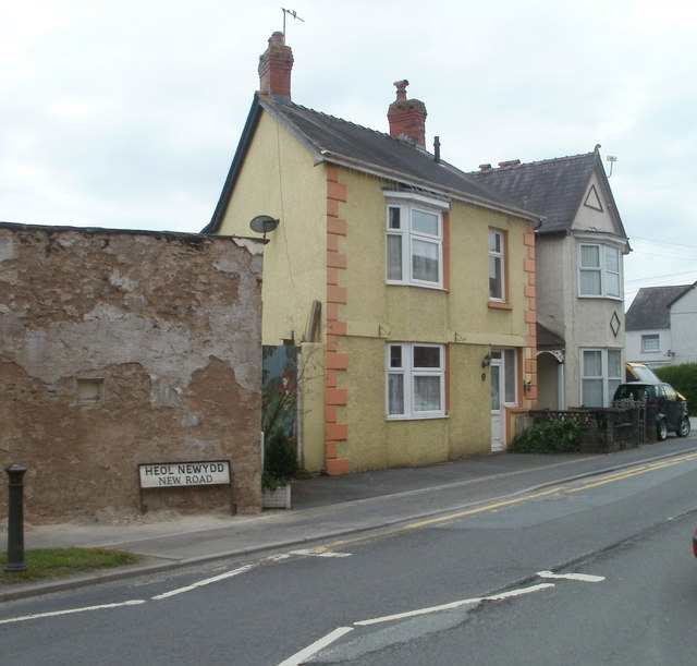 New Road houses, Llandovery