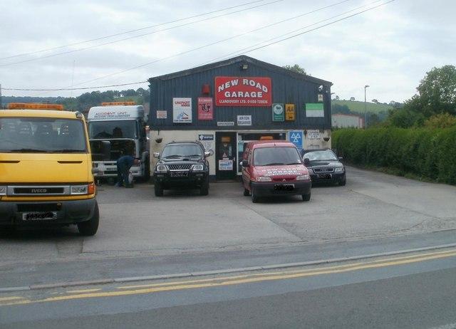 New Road Garage, Llandovery