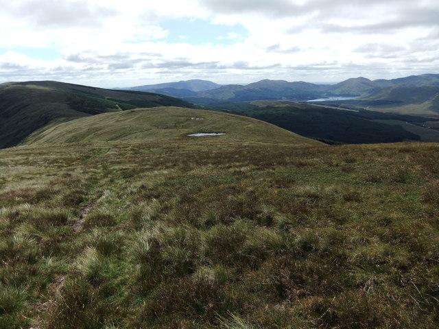 South ridge of Corserine