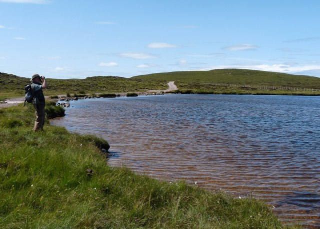 Loch na Gainimh on the way to Sandwood