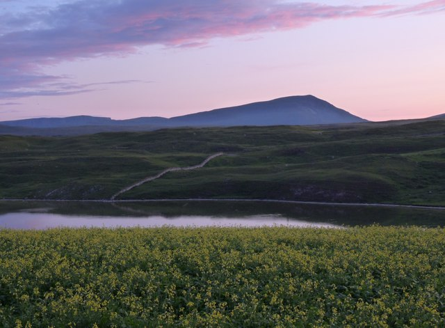 The gloaming over Loch Croispol