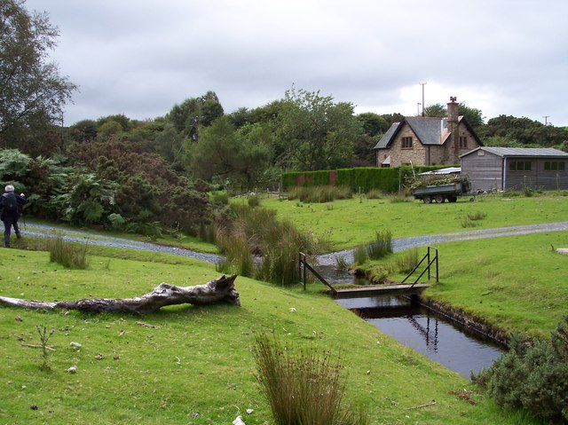 The ford at Cragg Cottage