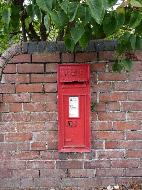 Victorian wallbox in Aston