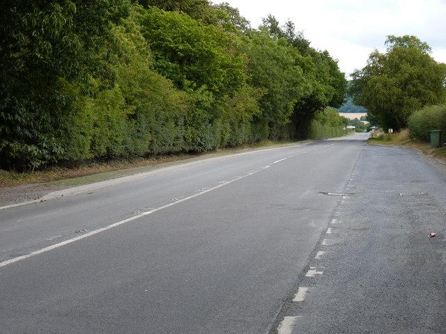 The old A5 near Overley Hall
