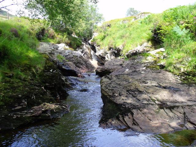 Strone Burn near Loch Katrine