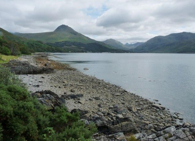 Shore at Glac an Tobair