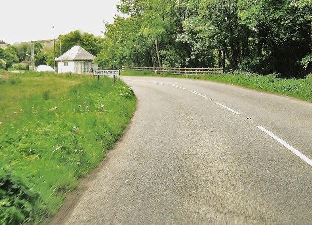 Entering Portpatrick
