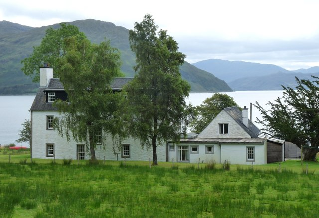 A mansion in Knoydart called Scottas