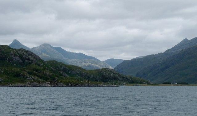 Loch Nevis shore at Braomisaig