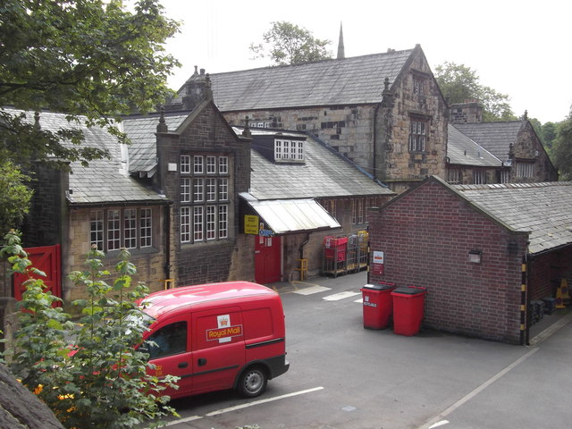 Royal Mail (Post Office) Todmorden Delivery Office, Rise Lane, Todmorden, West Yorkshire OL14 7AA