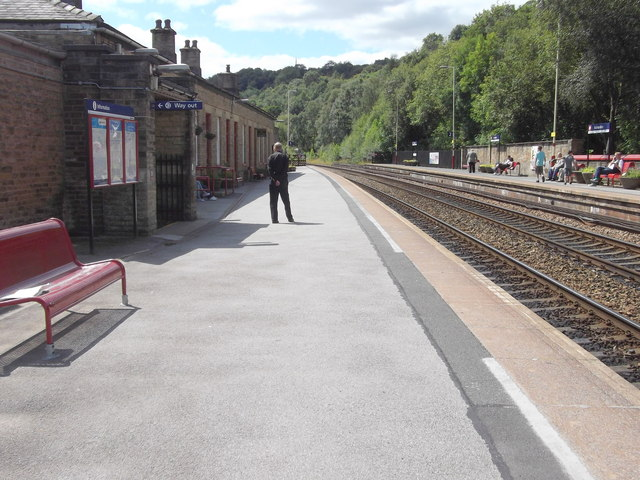 Todmorden Train Station, Rise Lane, Todmorden, West Yorkshire (Northern Rail)