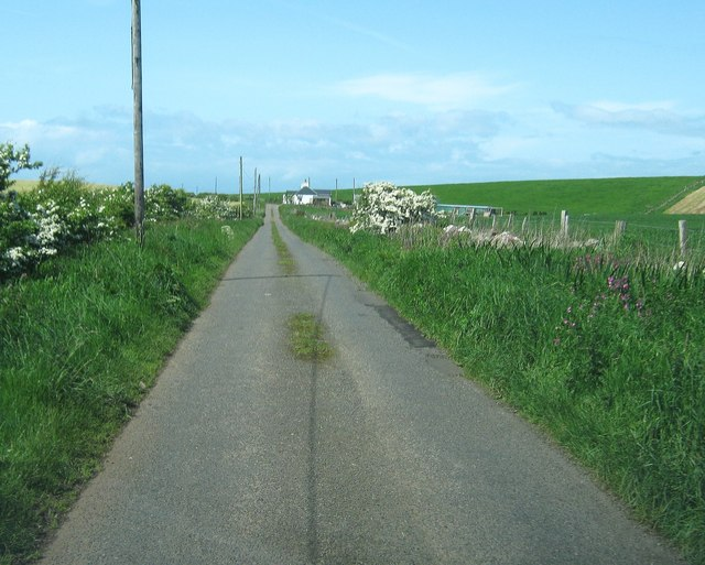 The road to South Cairn