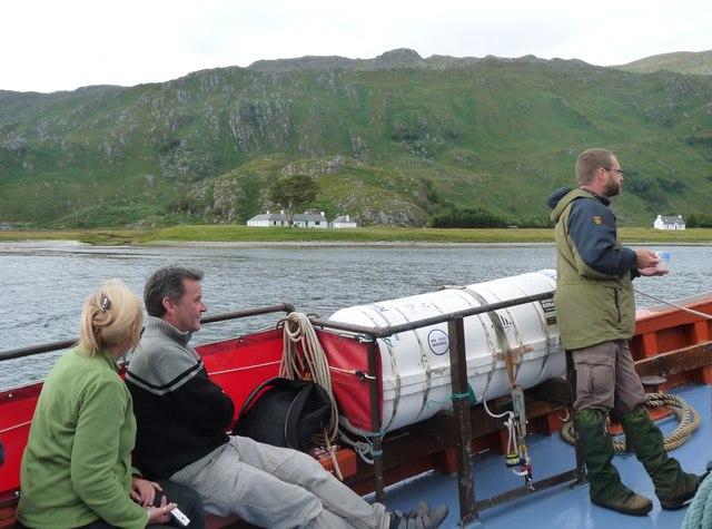 Kylesknoydart from the 'Western Isles'