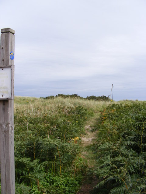 Footpath  off Sizewell Road