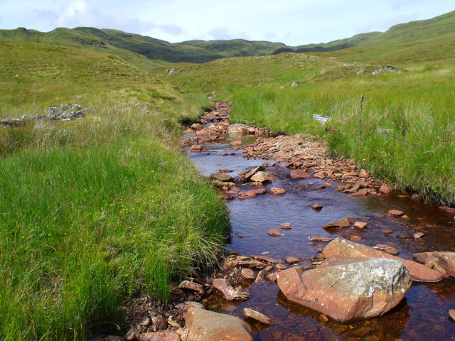 Tributary of Strone Burn near Loch Katrine