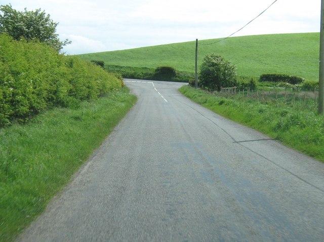 A T junction near Knocktim