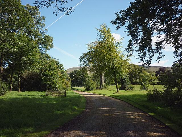 Downham Hall drive