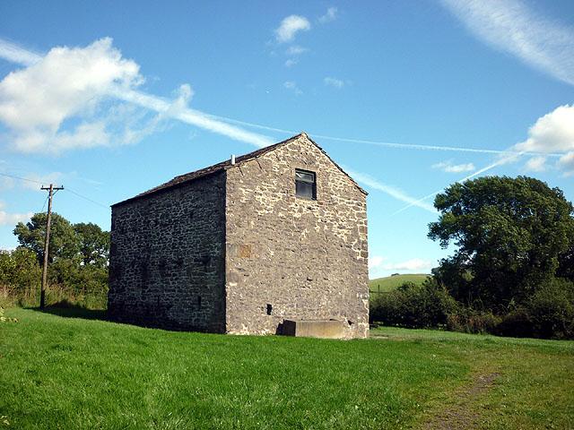 Barn by Twiston Lane