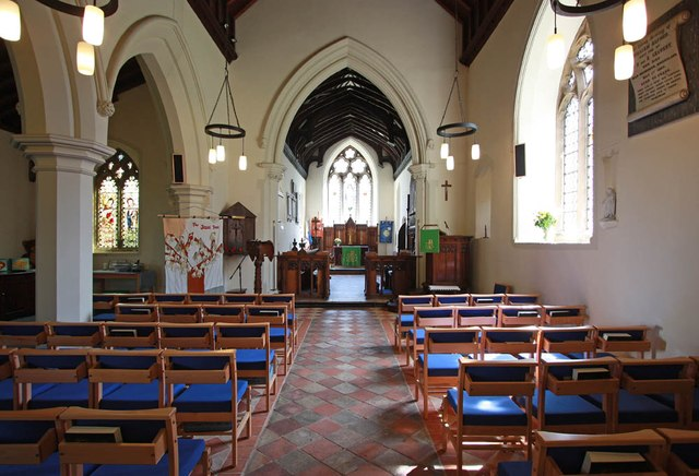 St Mary the Virgin, Little Hallingbury - East end