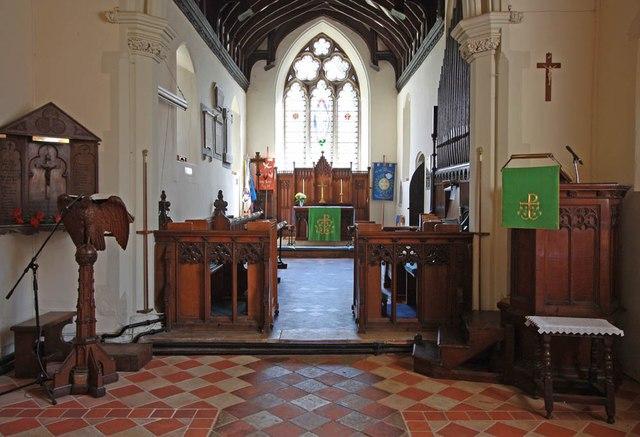 St Mary the Virgin, Little Hallingbury - Chancel