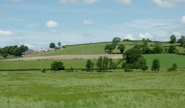 Farmland west of Llanddewi-Brefi, Ceredigion