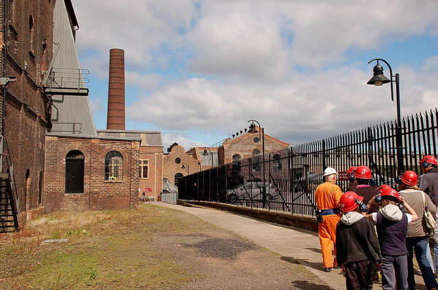 Museum tour, Lady Victoria Colliery Newtongrange