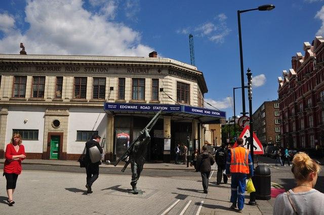 London : Westminster - Edgware Road Tube Station