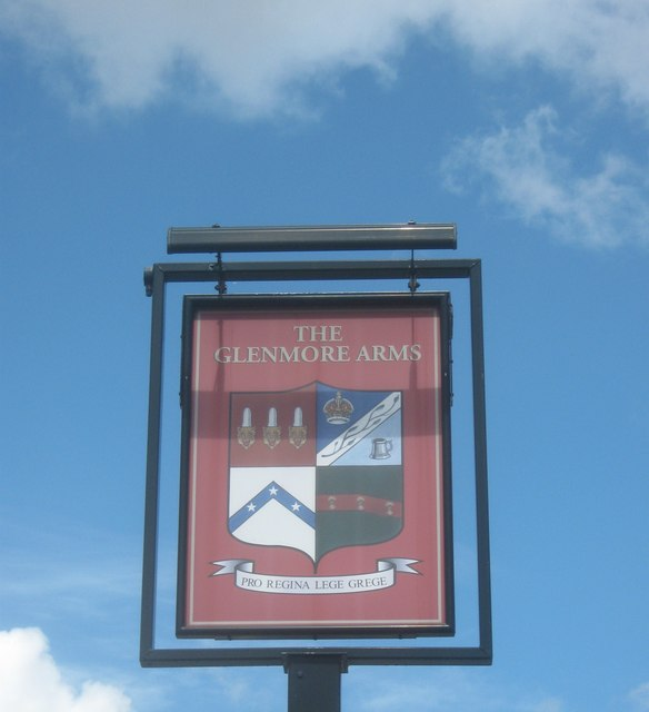 The Glenmore Arms, Pub Sign, Plumstead