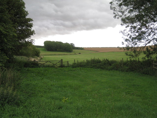 View towards Cocked Hat Plantation