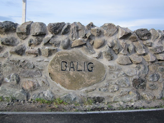 Balig Sign