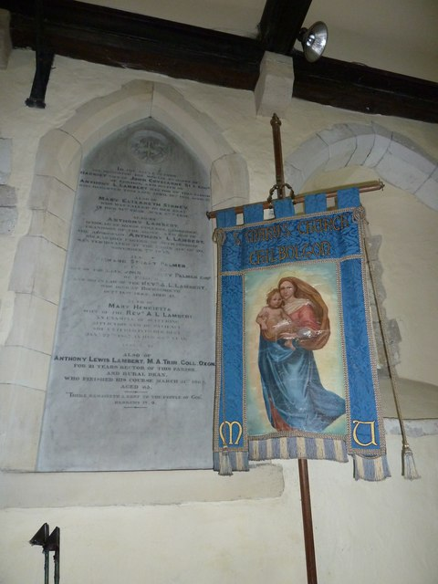 St. Mary the Less, Chilbolton: banner